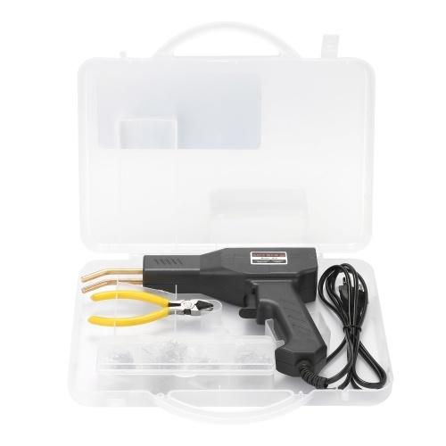 Handliche Kunststoffschweißgeräte Garagenwerkzeuge Heißhefter Heftklammern PVC-Reparaturmaschine Autostoßstange Reparaturhefter Schweißwerkzeug