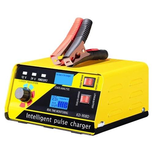 Зарядное устройство для автомобильных аккумуляторов наивысшей мощности, автоматический интеллектуальный инструмент для зарядки аккумулятора