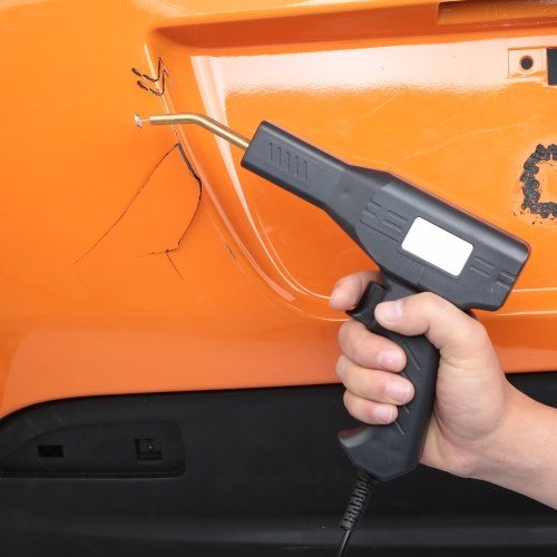 50W Heißhefter Kunststoffschweißmaschine Autostoßstangenreparatursatz Schweißreparaturmaschine