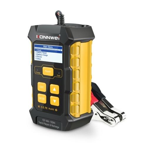 KONNWEI KW510 автомобильный аккумулятор тестер 12 В автомобильный аккумулятор анализатор автомобильный сканер инструмент многоязычный тестер