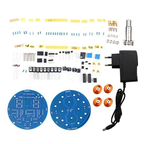 Kit de levitación magnética DIY, kit de bricolaje flotante magnético, juguete flotante, accesorios de experimento de circuito eléctrico para enseñanza experimental
