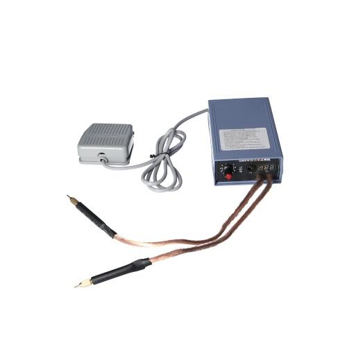 5000W Batterie-Punktschweißsatz Einstellbare Batterie-Schweißlötmaschine für 18650 Lithium-Batteriepack-Schweißen 0,2 mm Nickelstreifen