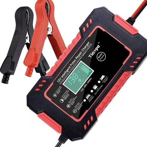 Автомобильные зарядные устройства Аккумулятор 12,0 В Универсальные зарядные устройства Интеллектуальные зарядные устройства для быстрой зарядки