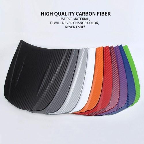 Waterproof Car Stickers 3D Car Carbon Fiber Vinyl Film фото