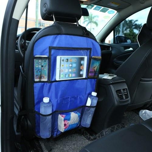 Автокресло Спинка Организатор Сумка Заднее сиденье Коробка для хранения Автомобильный чехол Белый фото