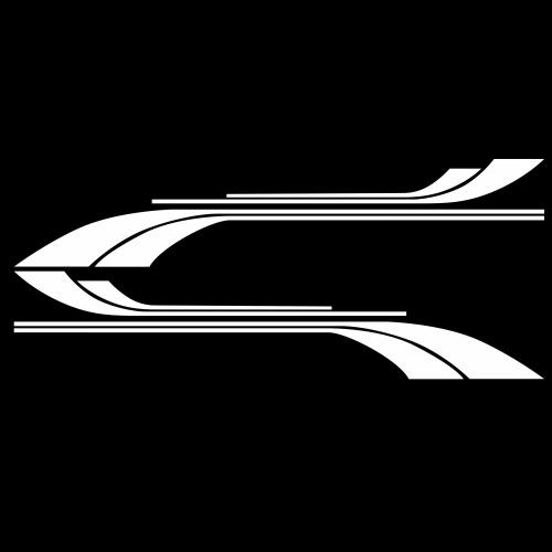 Авто Наклейка Кузова Самоклеющиеся Боковой Грузовик Графика Наклейки Приспособления для Кемпинга Караван RV Trailer