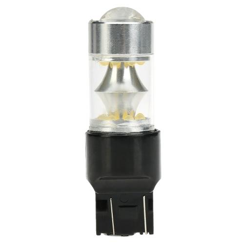 Sencart T20 7443 W21 21W W3X16Q 100W 20xProfessional LED 2200LM 6500K pour frein de voiture Light lampe clignotant feu de recul