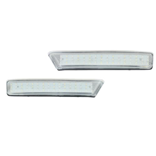 Pair of Rear Bumper Reflect Warning Light Plate Replacement Modification Tail Brake Lamp for Honda N BOX