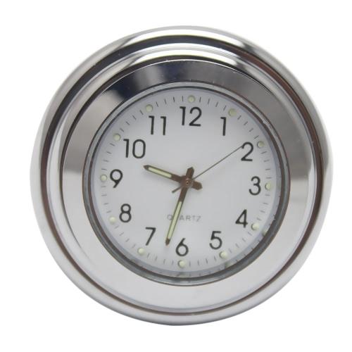 Universal 22mm-25mm Motorcycle Water-resistant Shock Resistant Handlebar Mount Dial Clock Watch