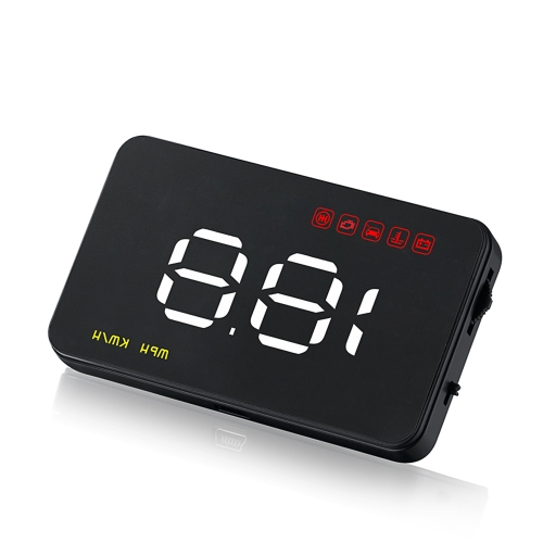 3.5 Inch Car HUD Head Up Display with OBD OBDII Interface Plug & Play