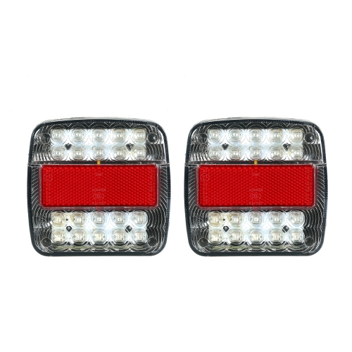 2X 12V 26 LED Light Stop Tail Indicator Ciężarówka Trailer Van Bus 4x4 Pickup