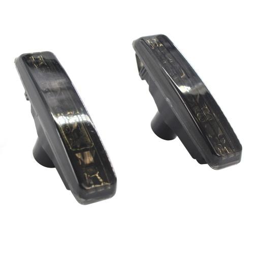 2pcs Smoke Fender LED Side Marker Lights Replacement for BMW 97-03 E39 525i 528i 530i 540i