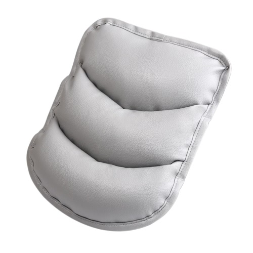 Car Styling Soft Elastic Armrest Cushion Auto PU Vehicle Center Console Arm Rest Middle Cover Seat Box Pad Protective Case Soft Fatigue Reduce Mat Universal Decoration