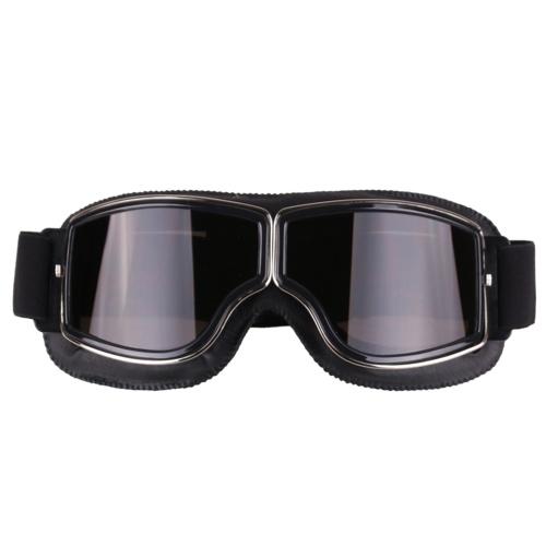 Gafas protectoras del casco de las gafas de la motocicleta de la vendimia del estilo retro de la moda para los deportes al aire libre