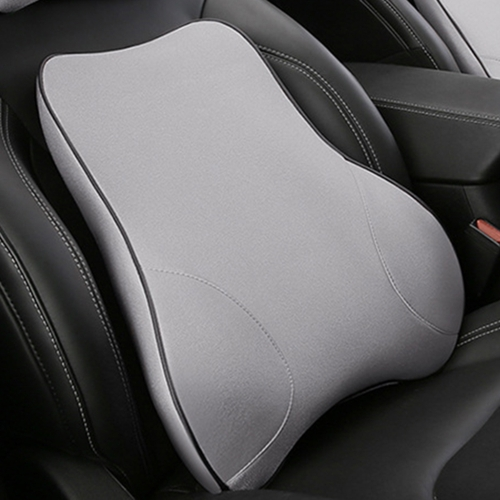 Car Seat Lumbar Cushion Memory Foam Back Brace Pillow Supports Ergonomics Auto Accessories Waist Pillows