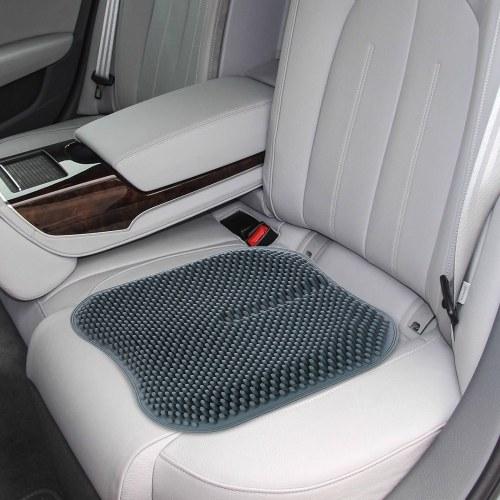 Almofada da cadeira do deslizamento de almofada do assento de carro do gel de silicone não para a casa do caminhão do escritório 16,5 polegadas