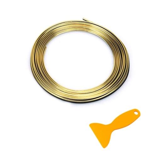 2M Flexible Trim Moulding Strip Decorative Line