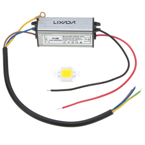 30W AC100-265V DC20-39V Driver & Bulb Power Supply Adapter Transformer Switch for Flood Light Factory Street Lamp LED Light Strips Bulbs IP66 Water Resistant