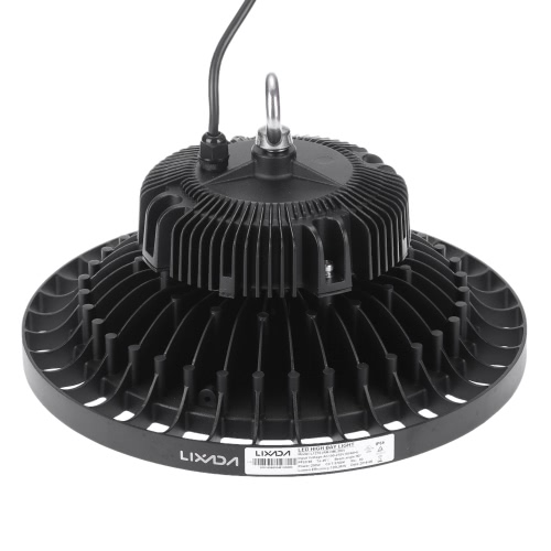 Lixada 200W Ultra Bright IP66 résistant à l'eau LED Industrial Light