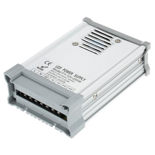 AC170-250V Для DC12V 250W 20.8A LED Driver Power Supply Adapter Transformer Выключатель светодиодные ленты