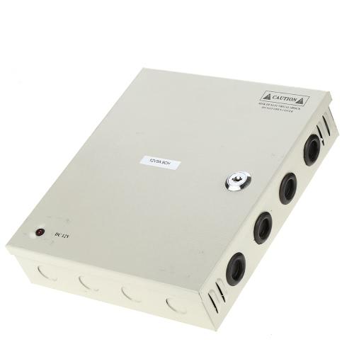 9CH AC100-240V Для DC12V 5A 60W LED Driver Power Supply Box адаптер Трансформатор для CCTV камеры безопасности светодиодные полосы Строка