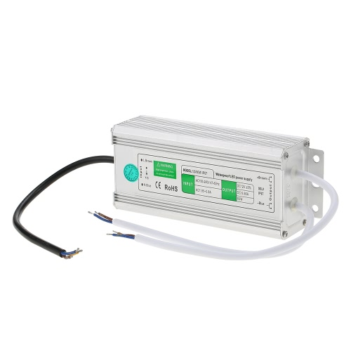 12V Waterproof IP67 LED Switching Power Supply Transformer for Indoor and Outdoor Installation