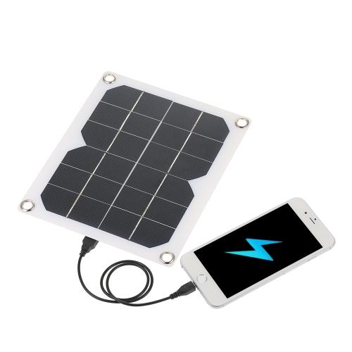 Cargador ultra delgado portátil del panel solar del USB de 5W 1200mAh