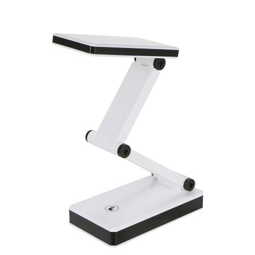 Tragbare faltbare 24 LED Tischleuchte Schreibtischleuchte