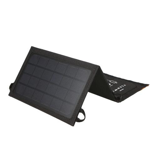 7W портативный складной USB солнечной панели зарядное устройство Power Bank