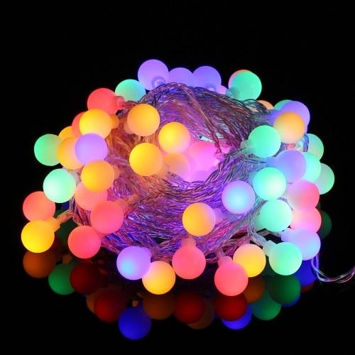 1.2W 3 Meter 20 batteriebetriebenes betriebenes buntes Schnur-Licht LED