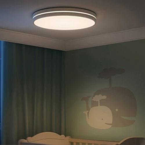 Yeelight YLXD031YL AC 220 24W 350 * 68mm LEDs inteligentes Luz de teto Modo de iluminação dupla (produto do ecossistema Xiaomi)