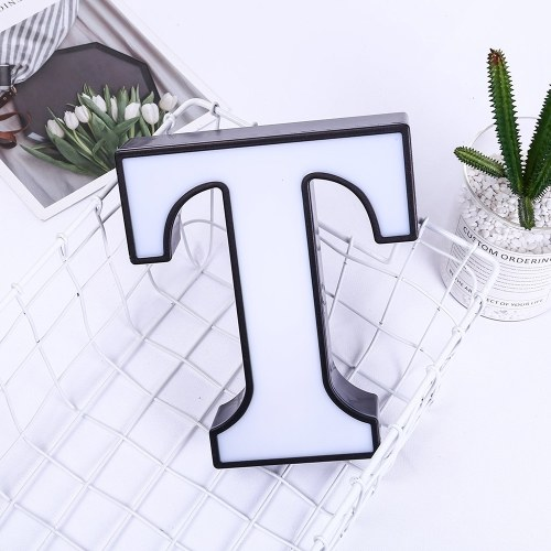 White Letter-Shape Lamp Home Club Outdoor Indoor Party Wedding Decoration