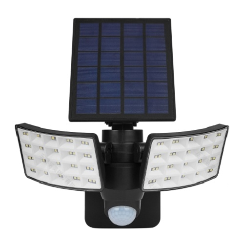 Solarbetriebene Wandleuchte PIR Bewegungssensor Beleuchtungssensor Zweiseitige Beleuchtung Wandleuchte