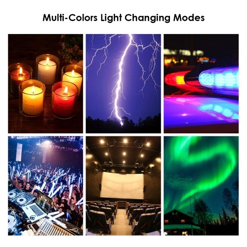 10.2 Inch Dimmable 184 LEDs RGB & 2700-6500K Photography Light USB Powered Operated Selfie Lamp 10 Levels Adjustable Brightness with BT Connected Remote Controller Stretchable Tripod Stand & Mobile Phone Bracket for Live Broadcast/ Makeup/ Video Show