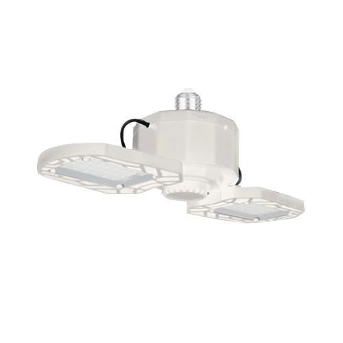 Led Garage Lights Deformable Led Folding Adjustable Ceiling Lamp E27 Led Light for Garage/Warehouse/Workshop/Balcony/Basement/Factory Lighting