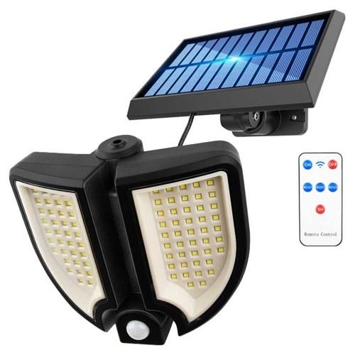 90 LEDs Wasserdichte IP65 geteilte Solarlampe Human Induction Wall Lamp