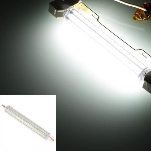 R7s 144 LEDs 15W 189mm 1450LM 2835 SMD AC 220-240V Birne Licht Mais Lampe Flutlicht dimmbar 360 Grad Ausleuchtung hohe Helligkeit weiss