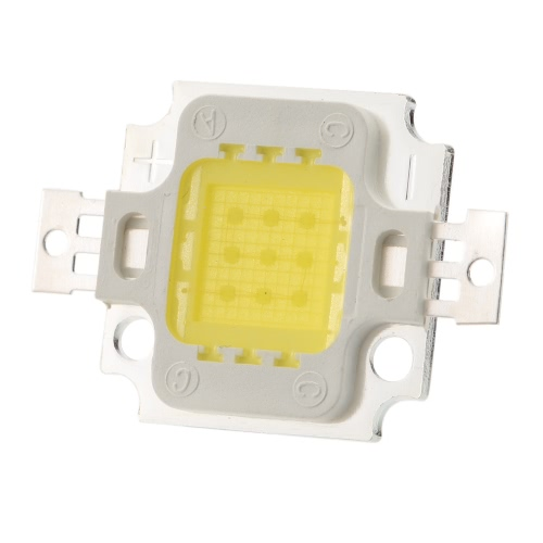 10W High Power LED Integrated Lamp Bead Taiwan Imported Chip 260-300mA 28-32V 900-1000LM for Floodlight Street Mining Light