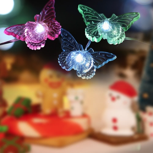 Christmas Starry String Light 40 LEDs 3m/10ft Timer Function with Remote Control Battery-operated Fairy Lamp for Christams Halloween Festive Decoration