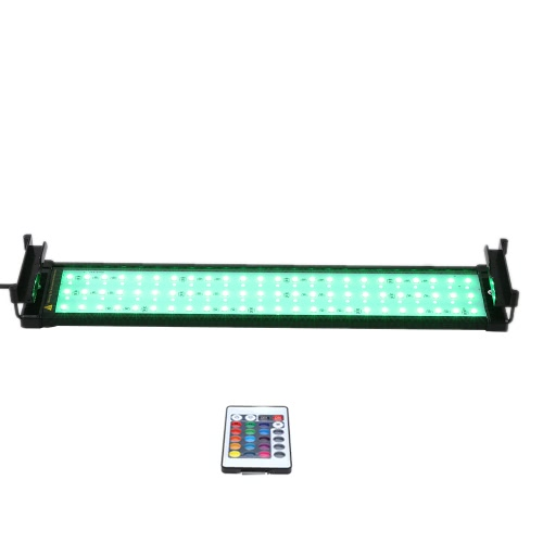 29 18W 108LEDs RGBW Remote Control Aquarium Fish Tank Lamp