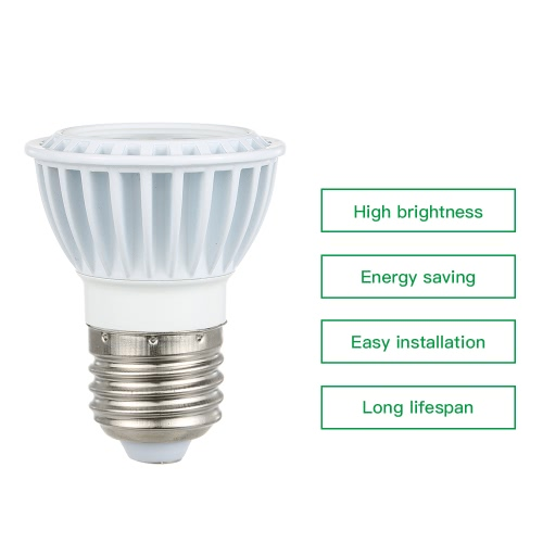 15W LED E26/E27 4000-4500K Natural White COB Ultra Bright Spotlight