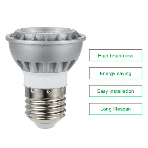 15W LED COB Ultra Bright Spotlight E26/E27/GU10/MR16  Environmental Friendly Light for Home Office Bar
