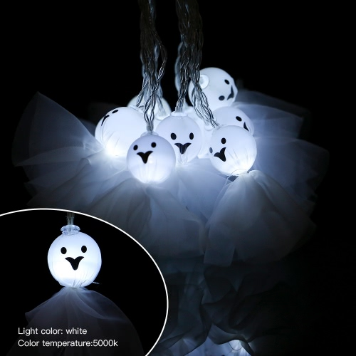 10LEDs 8.2ft Halloween Mysterious String Light Battery-powered Lamp for Theme Party Decoration
