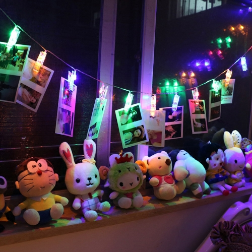 Mini DIY LED Clips Photo String Light