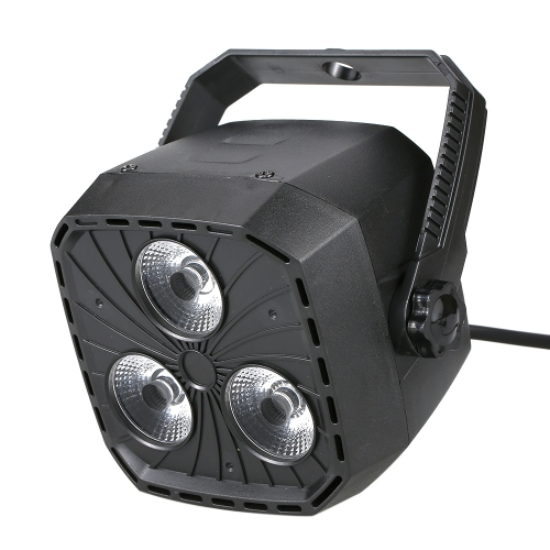 Portable 3*8W RGBW Lighting 4 in 1 Zoom Dmx Mini Par Light DJ Par DMX LED Par Light for  Disco Wedding Party Stage Show Uplighting Lamp
