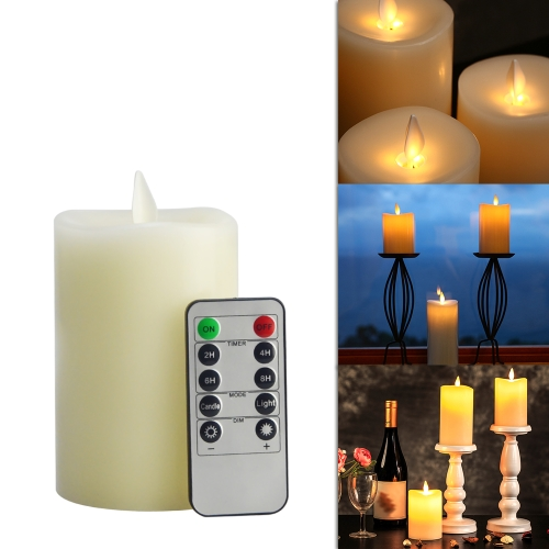 Flameless Electric LED Candle Light with Remote Control