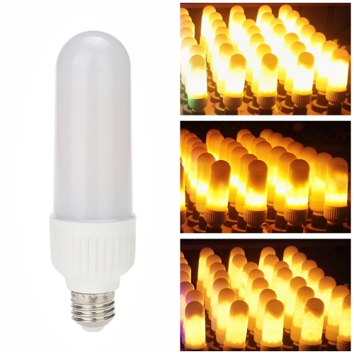 LED E26 Fire Effect Light Bulb 3 Lighting Modes