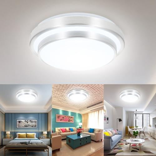 Accesorio de luz redondo circular de techo de 15W 24W 30pcs 48pcs LED