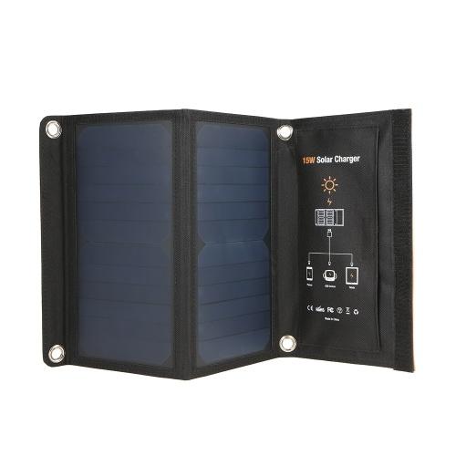 15W Портативная складная панель солнечных батарей