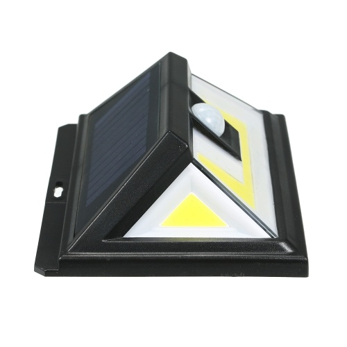 76 LEDs COB Solar Power Lights PIR Motion Sensor Wall Lamp